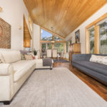 Image of living room of 1579 Mineral Spring Trail | Alpine Meadows Cabin for Alpine Meadows Real Estate