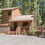 Front image of north lake tahoe home for sale for Carnelian Bay | Cedar Flat Cabin blog post