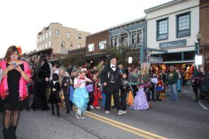 Truckee Halloween Parade