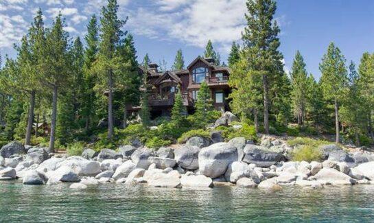 image of North Lake Tahoe Luxury Home overlooking Lake Tahoe