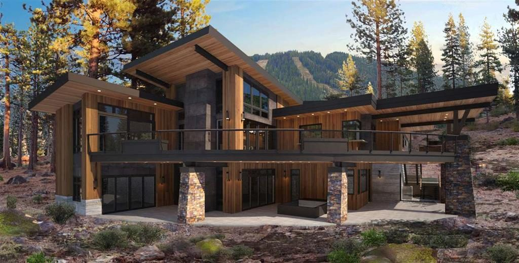 image of North Tahoe Luxury Home with custom design