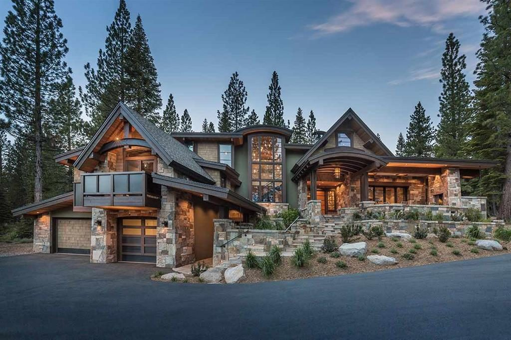 image of North Lake Tahoe Luxury Home with custom architecture