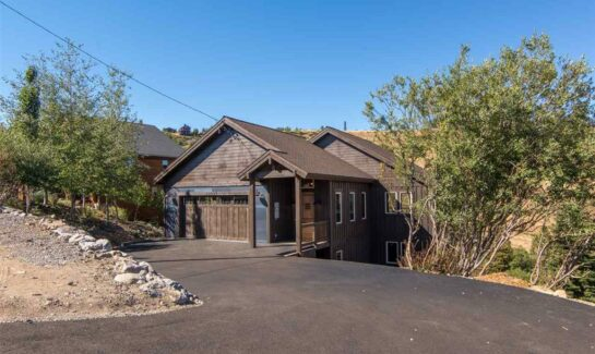 SOLD! Tahoe Donner Home
