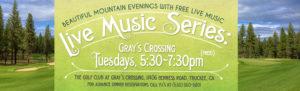 Free summer music in Tahoe