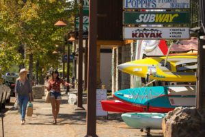 Tahoe City Labor Day Sidewalk Sale