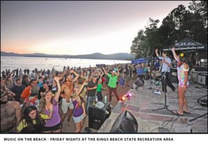 Music on the Beach, Kings Beach