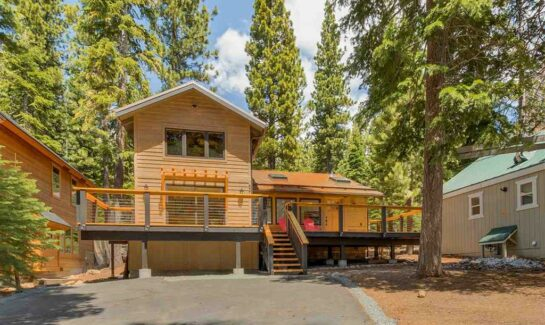 Carnelian Bay Home for Sale Exterior View