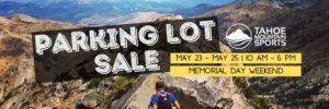 Tahoe Mountain Sports Parking Lot Sale