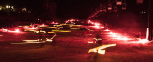 Image of glowstick parade for Glowstick Parade and Carnival
