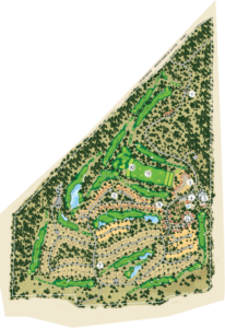 Old Greenwood Neighborhood and Golf Map