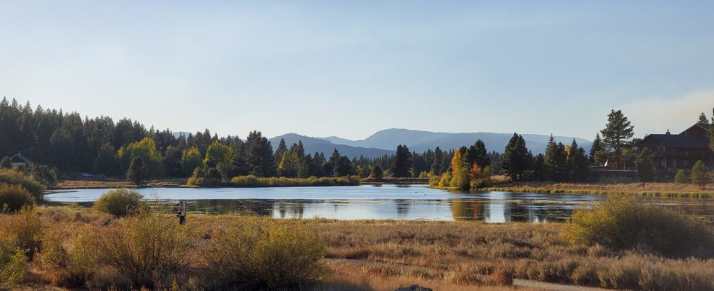 Glenshire Pond in Truckee, CA