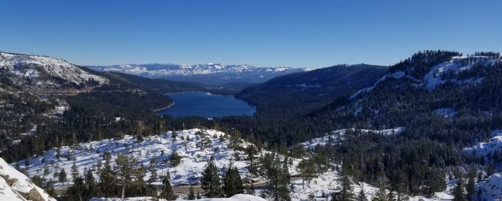 Donner Lake in Winter - Homes for Sale