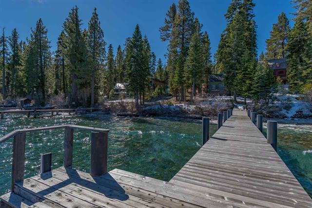 Tahoe Lakefront Home with Pier