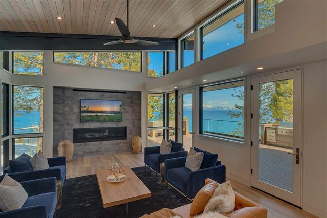 Lake Tahoe Lakefront homes