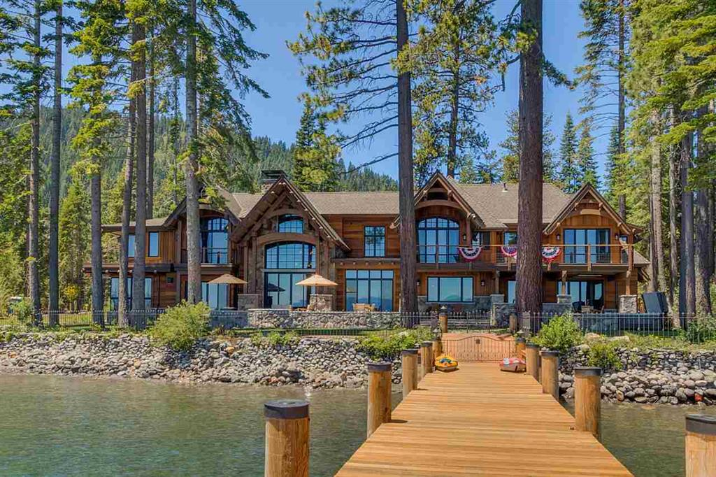 Luxury Lake Tahoe Lakefront Home