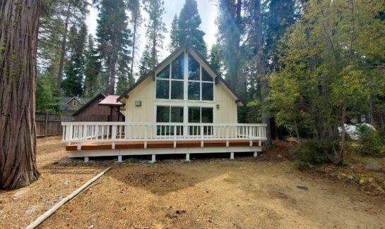 Tahoe Cedars Cabin