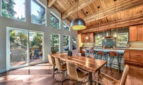 Homewood CA Luxury Ski Home